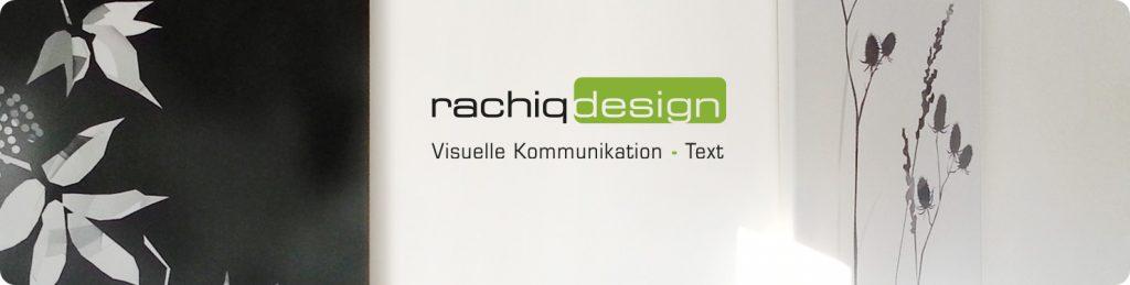 rachiq-design Visuelle Kommunikation und Text
